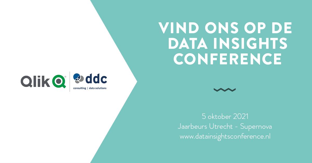 DDC en Qlik slaan de handen ineen tijdens Data Insights Conference 2021